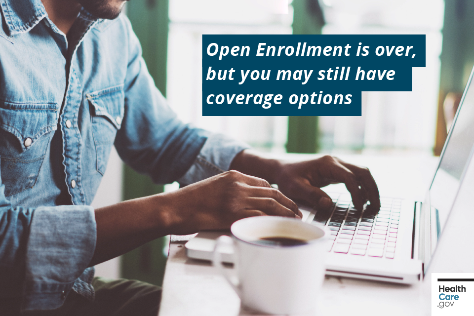 Image: {2018 insurance options outside Open Enrollment}