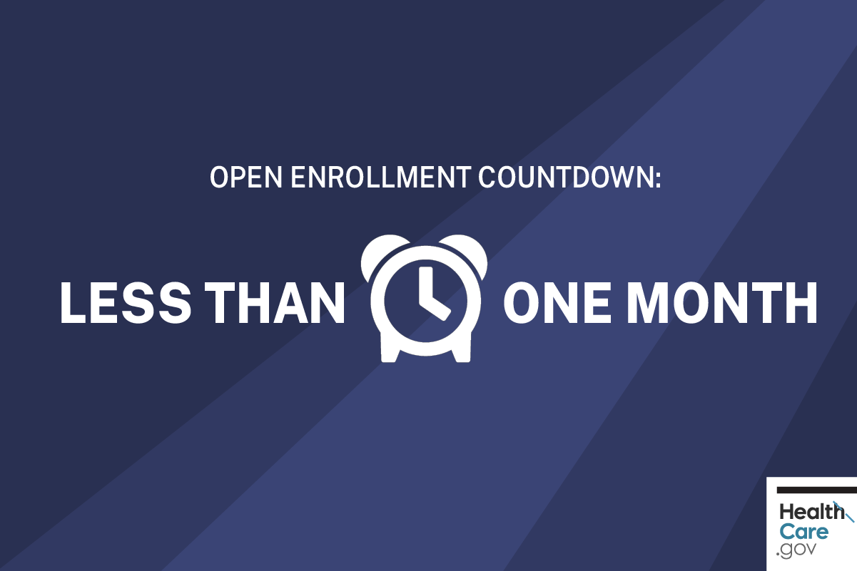 "Image: {Countdown clock for 2020 Open Enrollment""}"