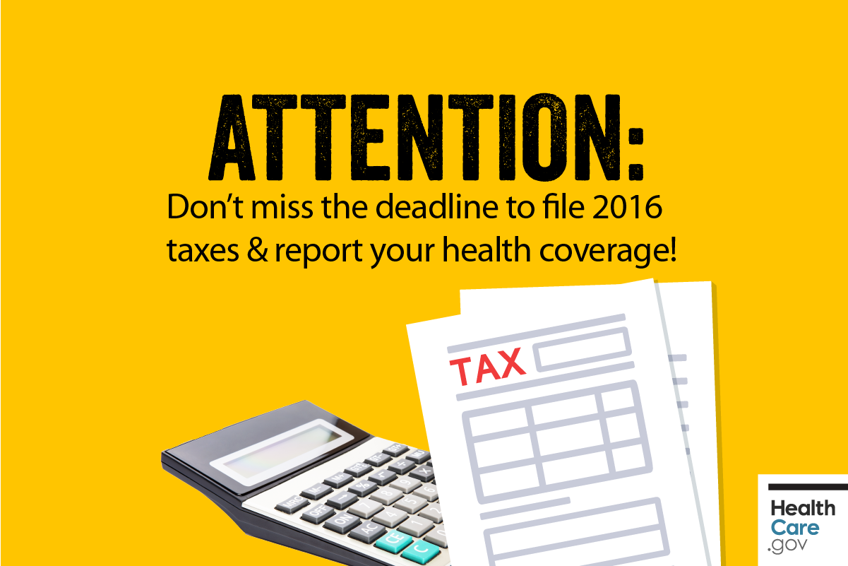 Image: {2016 tax filing deadline is almost here}