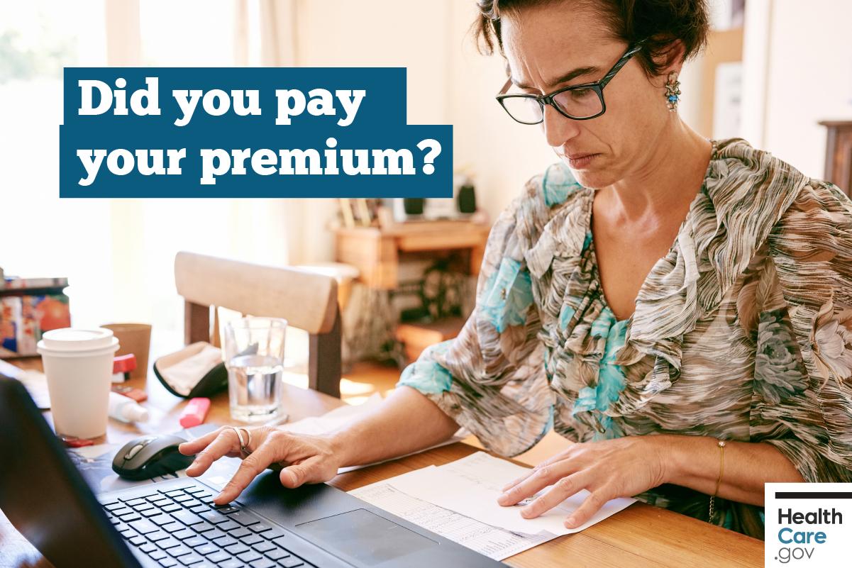 Image: woman-pays-premium