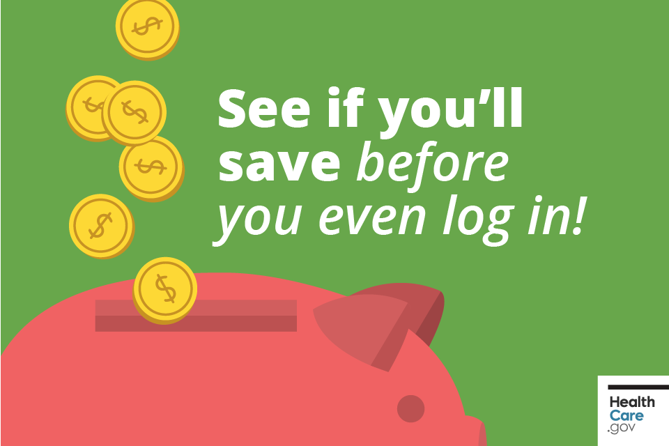 Image: See if you'll save before you even log in!