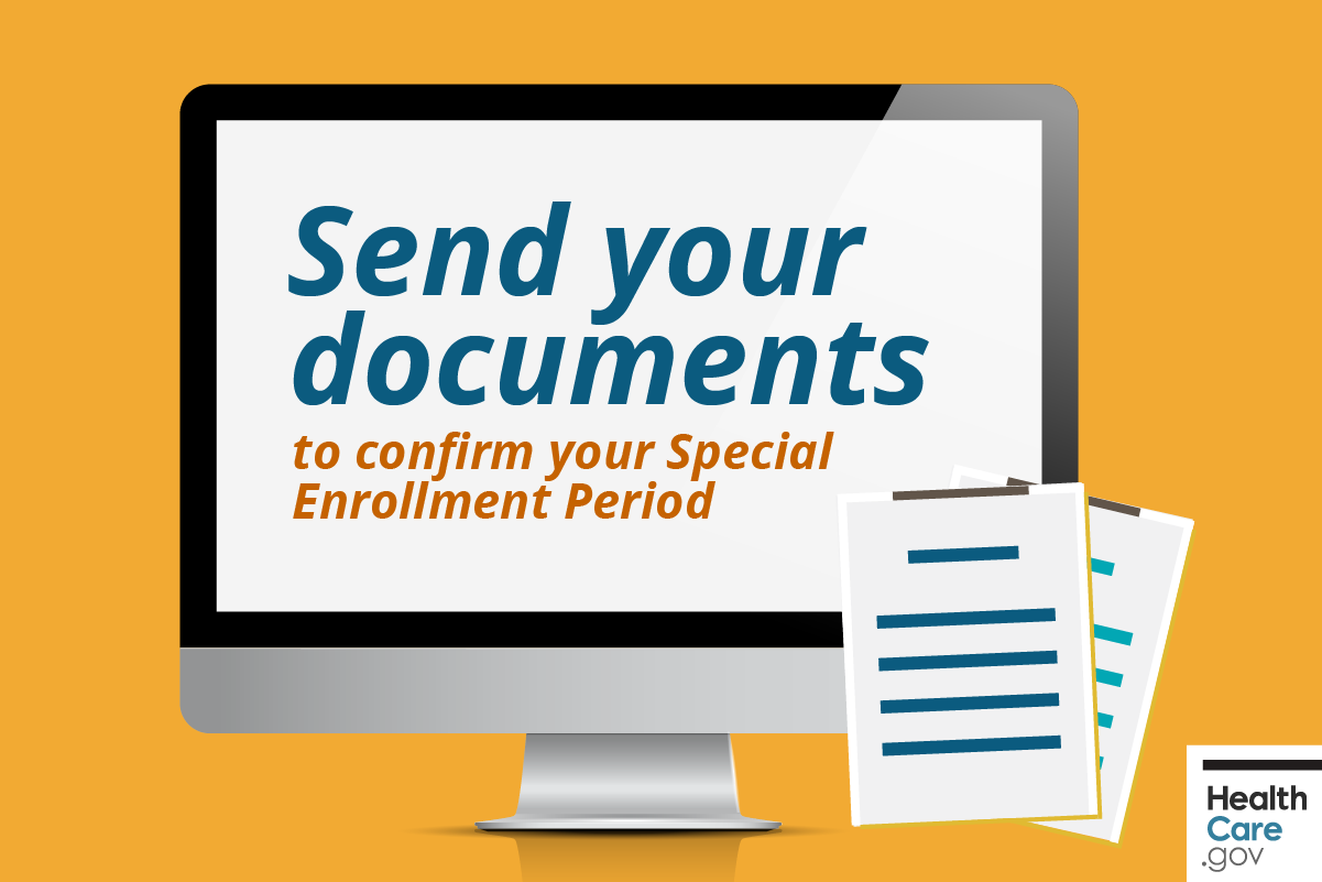 Image: {Send Special Enrollment Period documents}