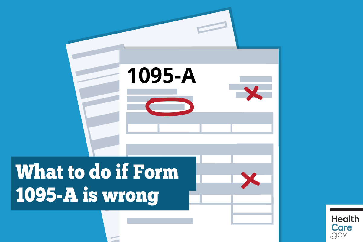 Image: {What to do if Form 1095-A incorrect}