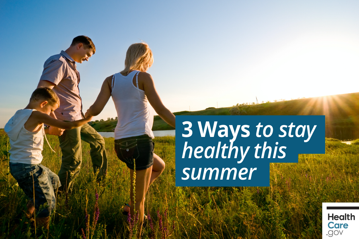 Image: {Tips for having a healthy summer}