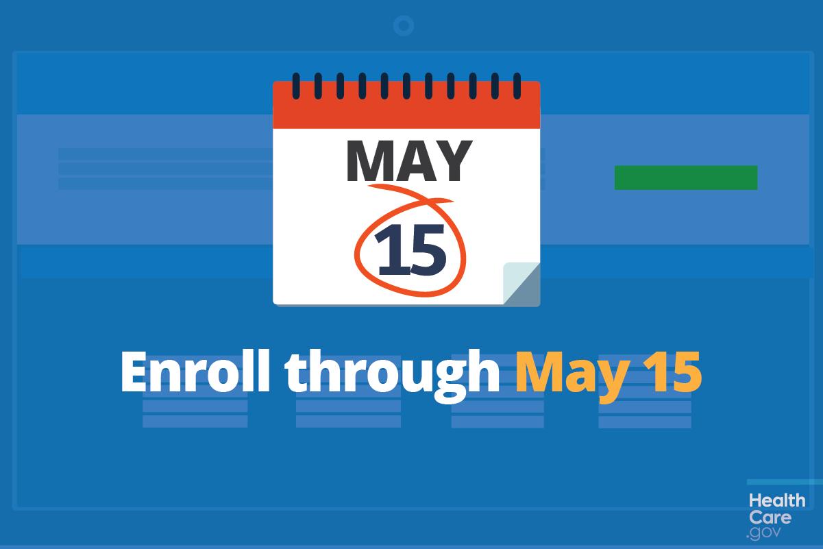 Image: Enroll through May 15