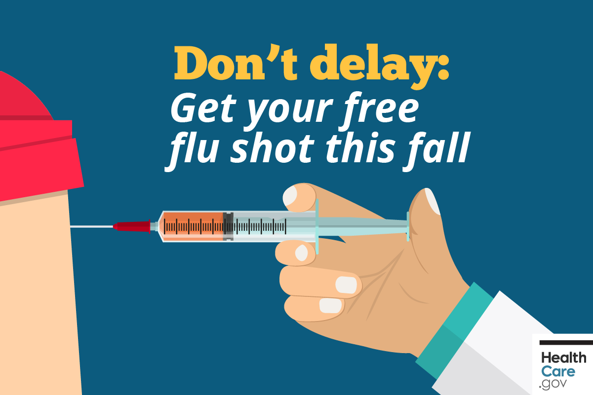 Image: {Get your free flu shot this fall}