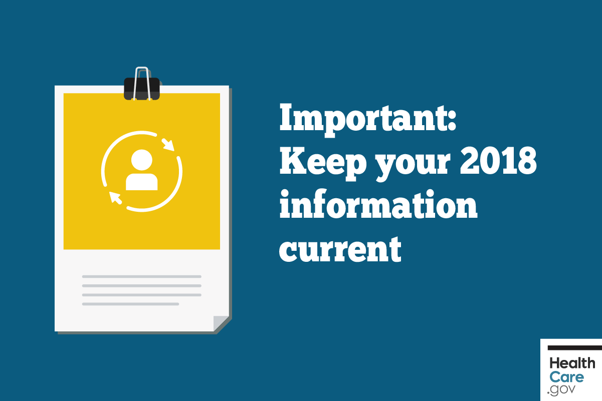 Image: {Keep 2018 information current}