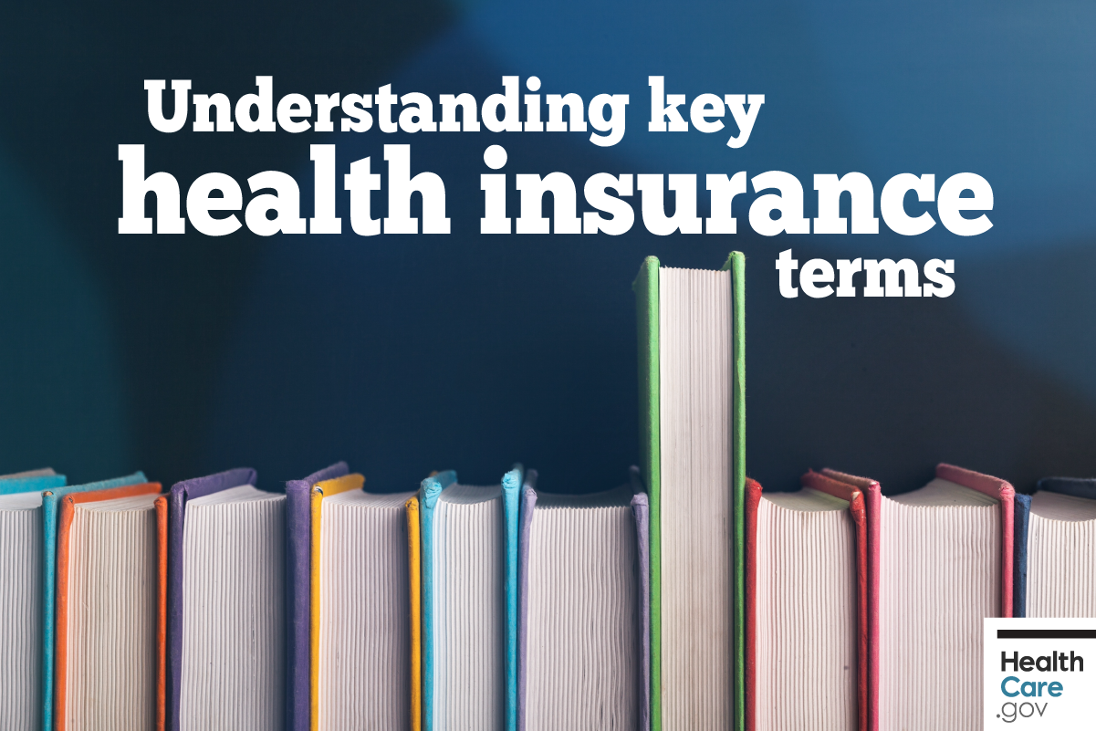 Image: {Key health insurance terms}
