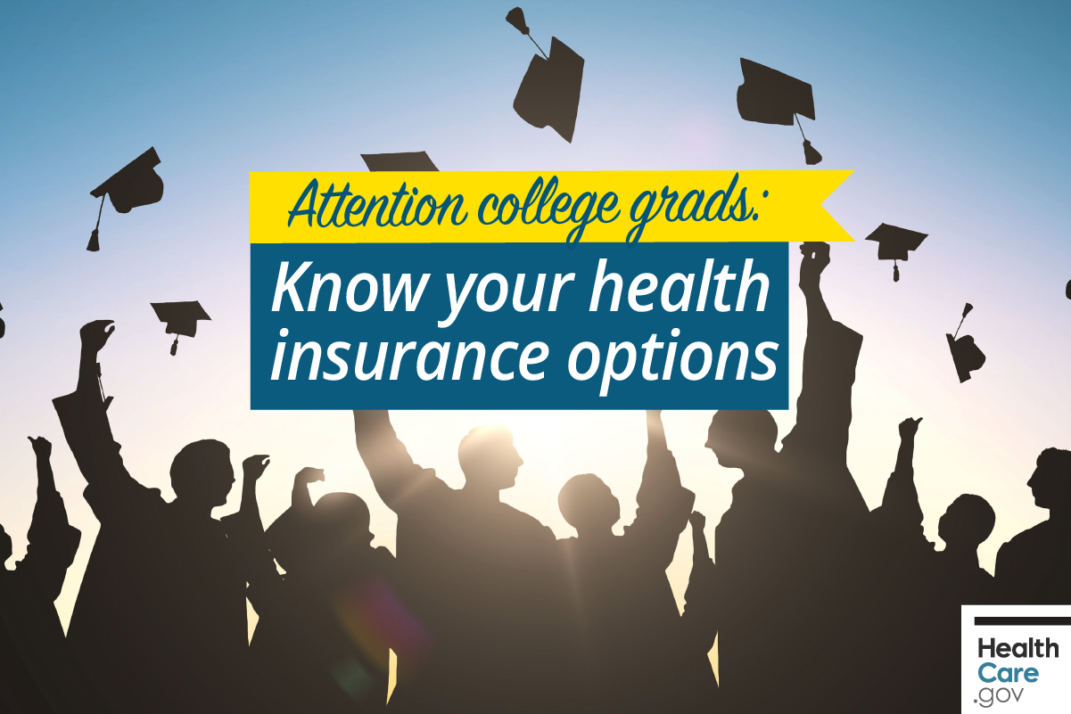 Image: {Health insurance options for college graduates}