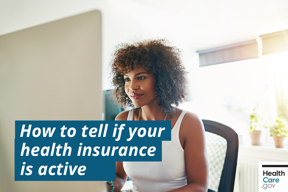 Image: {Know your health insurance is active}