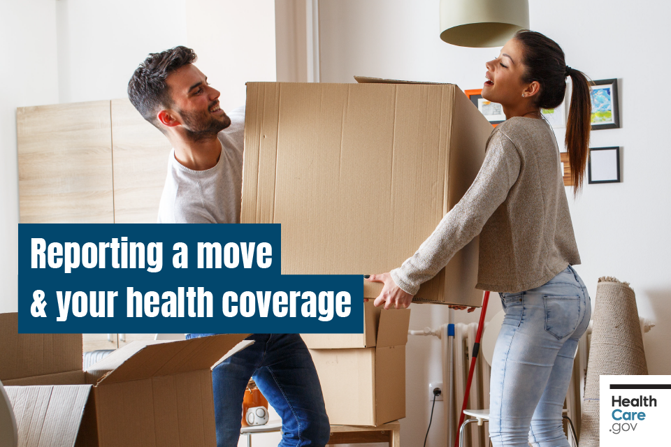 Image: Reporting a move & your health coverage