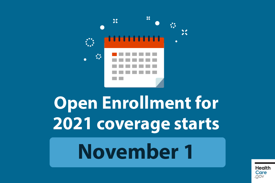 Open Enrollment Begins November 1, 2020