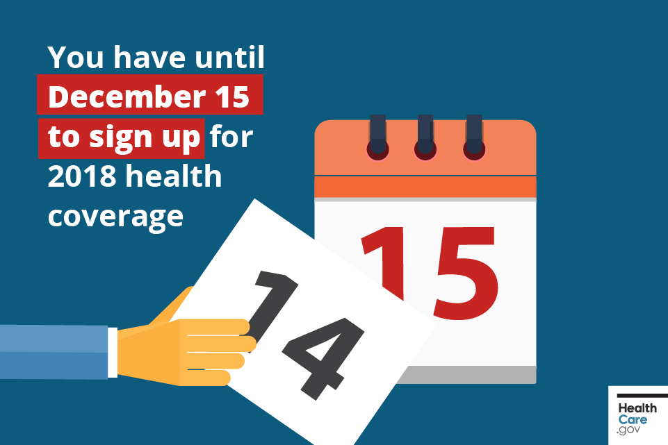 Image: {Open Enrollment is almost over}