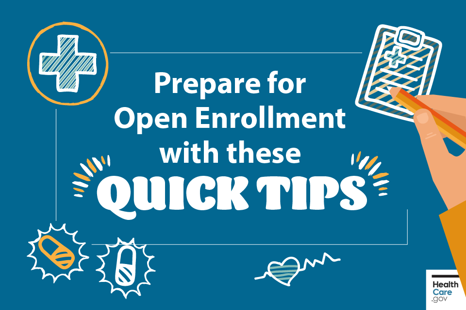 Prepare for Open Enrollment with these quick tips