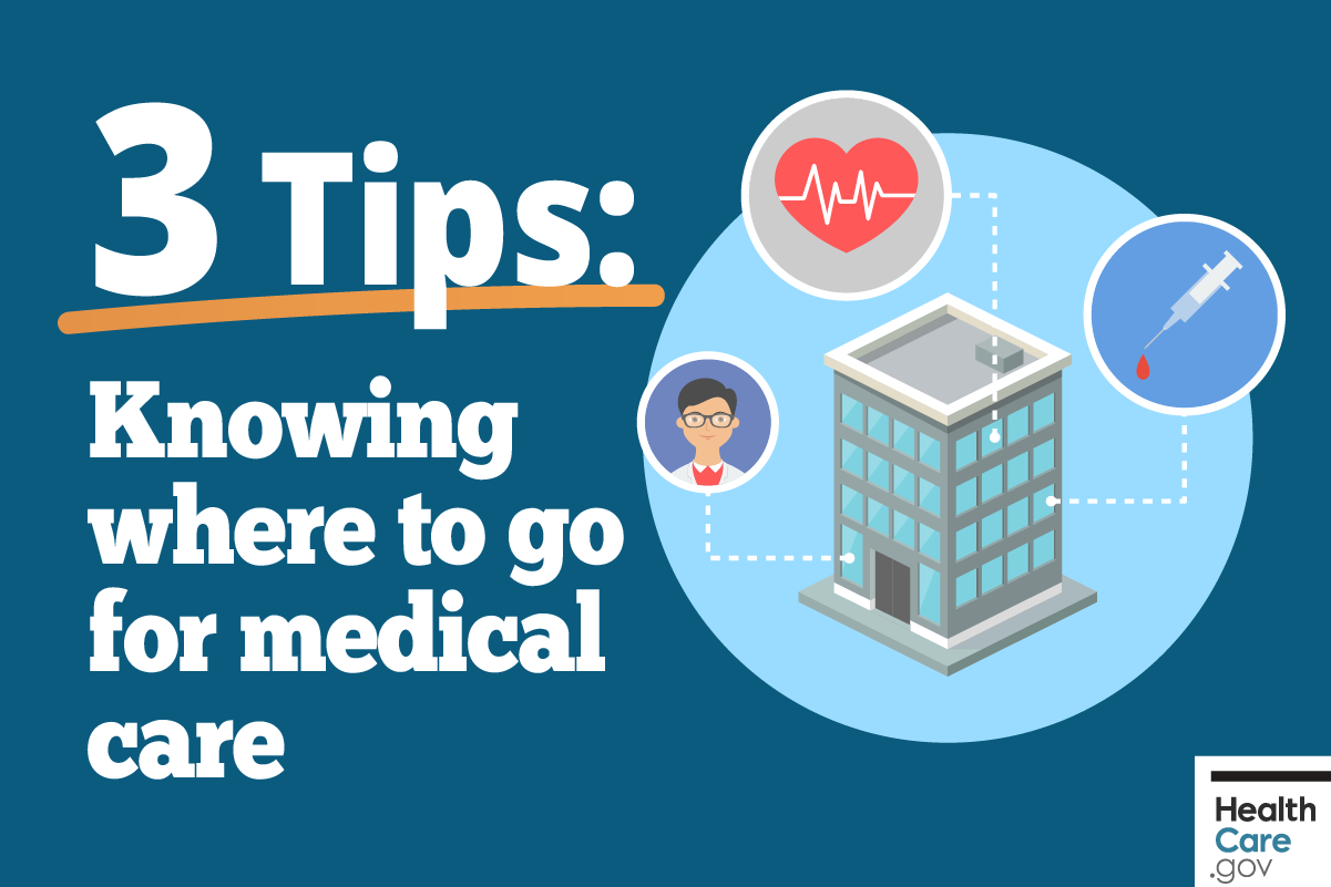 Image: {Where to get medical care}