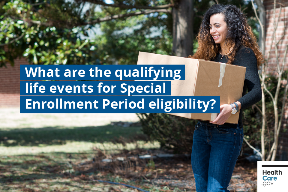 What are the qualifying life events for Special Enrollment Period eligibility?