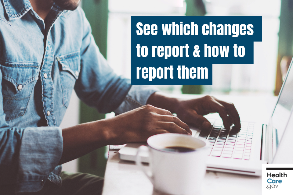 Image: See which changes to report & how to report them
