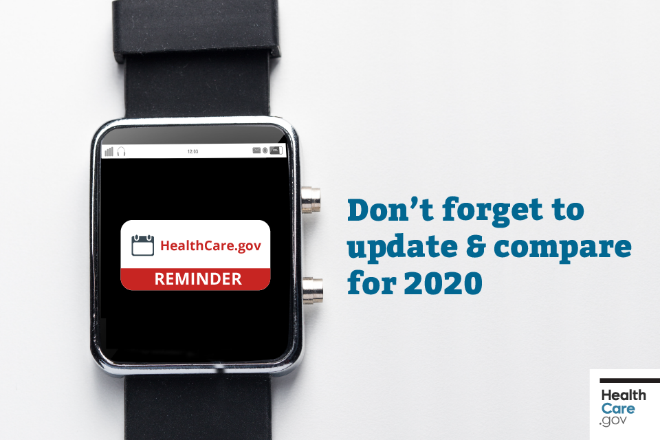 Image: {Smartwatch flashing important reminder to update and compare plans}