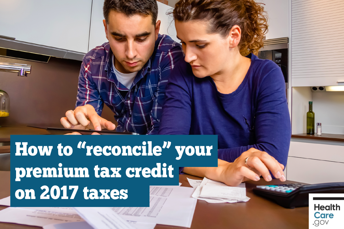 "Image: {""Reconcile"" on your 2017 taxes}"