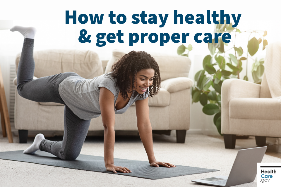 Image: How to stay healthy and get proper care