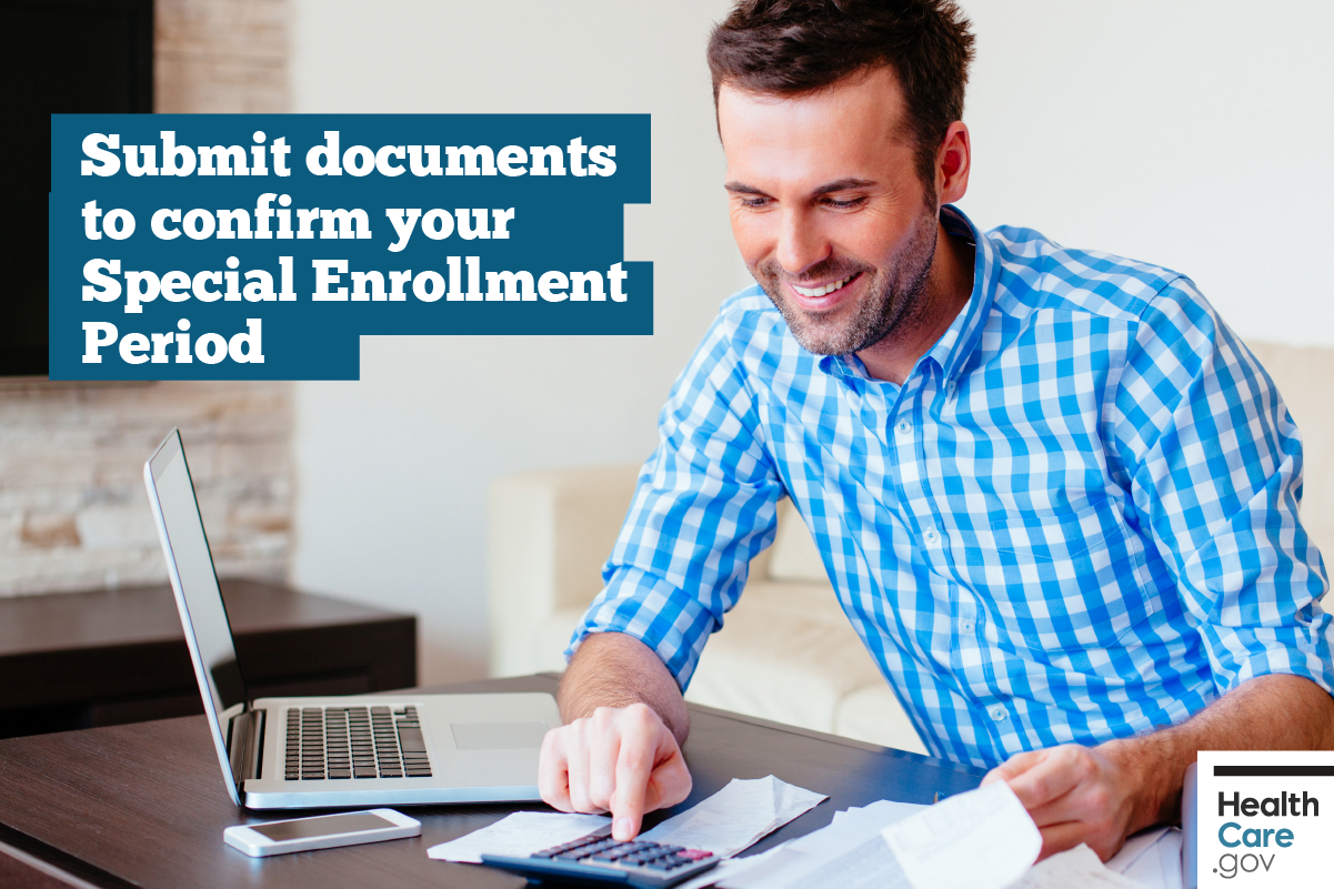 Image: {Submit Special Enrollment Period documents}