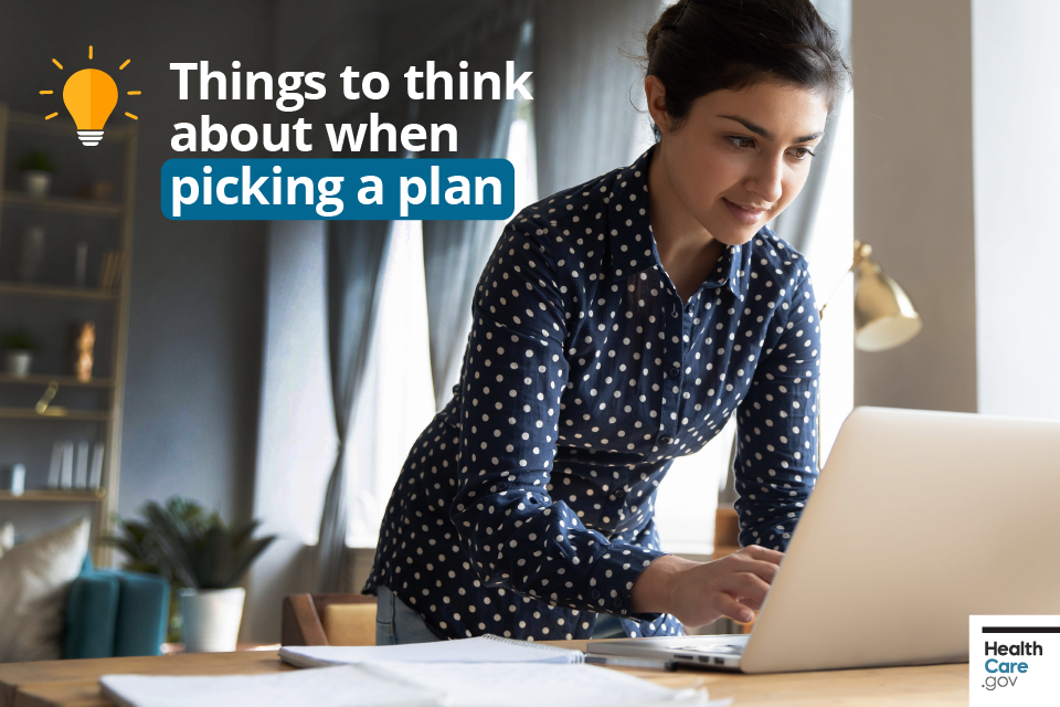 Image: Things to think about when picking a plan
