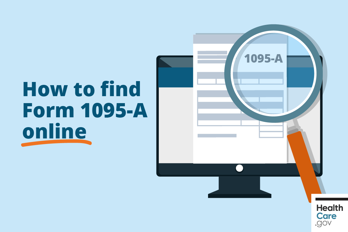 Image: How to Find Form 1095-A online