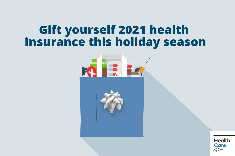 Image: Gift yourself 2021 health insurance this holiday season