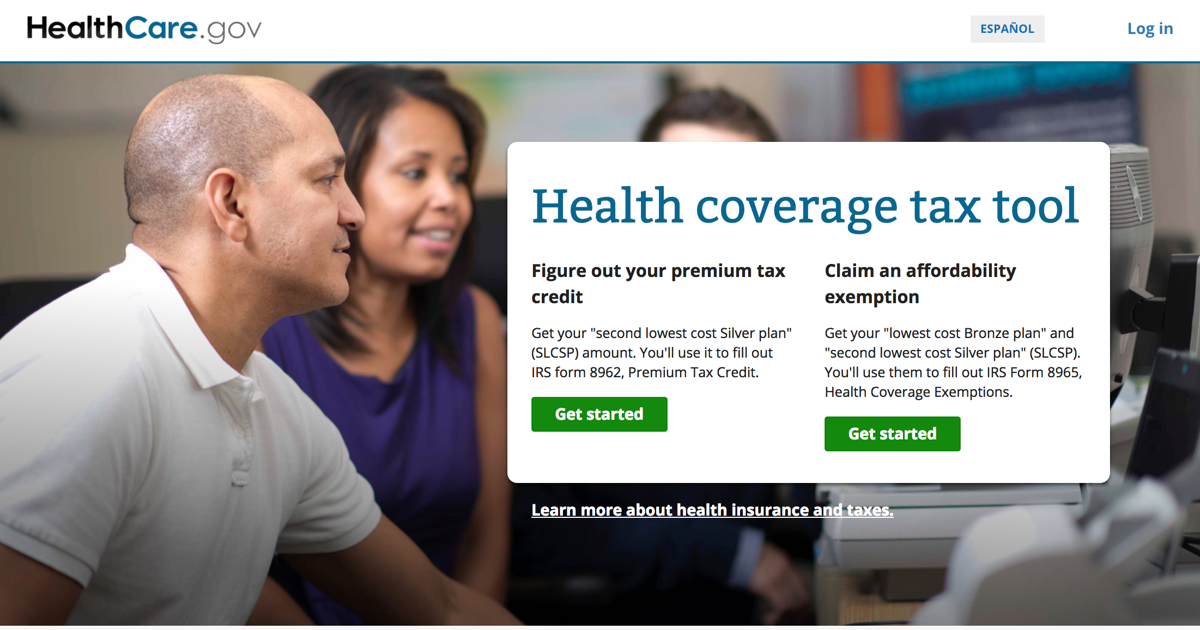Health Coverage Tax Tool Healthcare